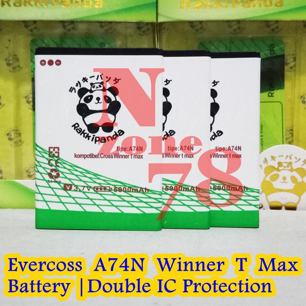 Baterai Evercoss Winner T Plus T+ A74e Double IC Protection | Shopee Indonesia