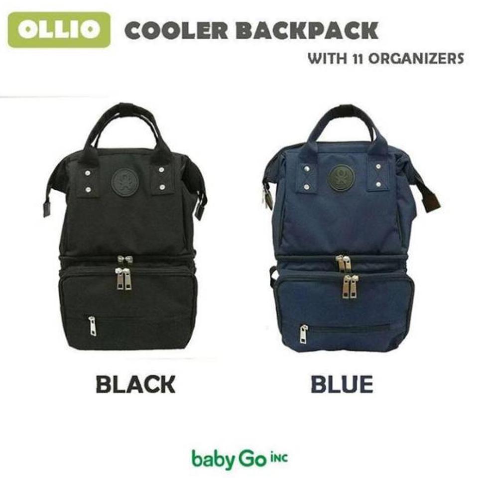 Babygo Inc Ollio Cooler Backpack Bag Shopee Indonesia Travelling Pouch Organiser