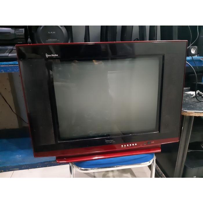 TCL 21M83US TV Tabung 21 inch CRT Extra Slimflat Color - Televisi Layar Kaca