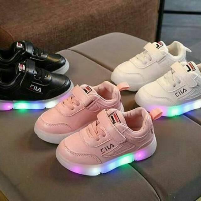Sepatu Anak Lampu Led Sz 21 36 Sepatu Anak Perempuan Sepatu