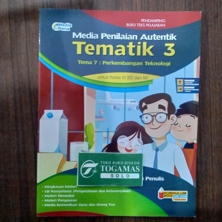 Media Penilaian Tematik Sd Kelas 3 Shopee Indonesia