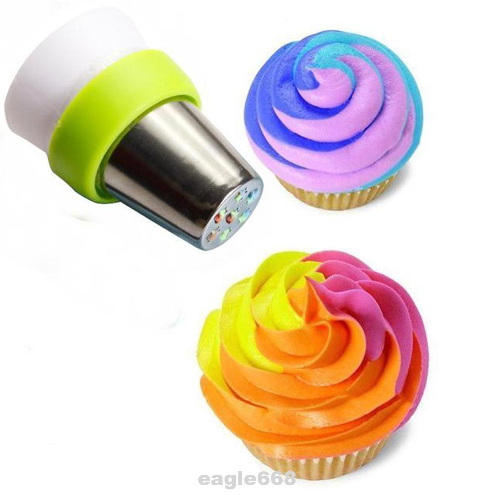 New Icing Piping Russian Nozzles Bag Cream Converter Coupler Cake Decor Tools~id