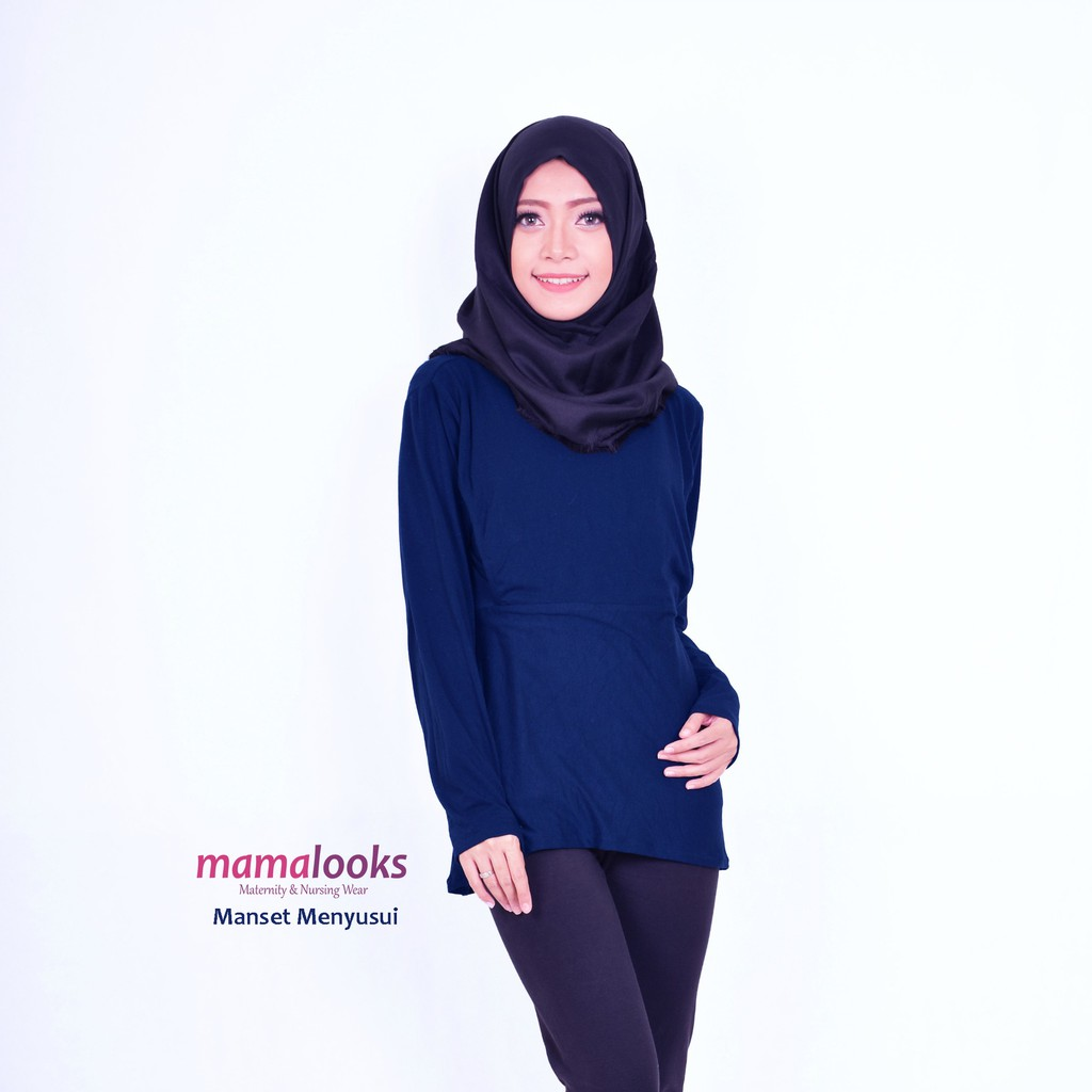 Just Mom Baju Menyusui Manset Aisha Khaki Daftar Harga Terlengkap Hamil Arietta Green 105 Dapatkan Dress