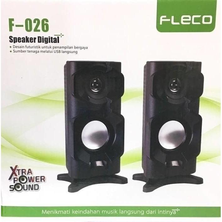 Speaker Active Digital 2.1 FLECO F-017 EXTRA POWER SOUND | Shopee Indonesia