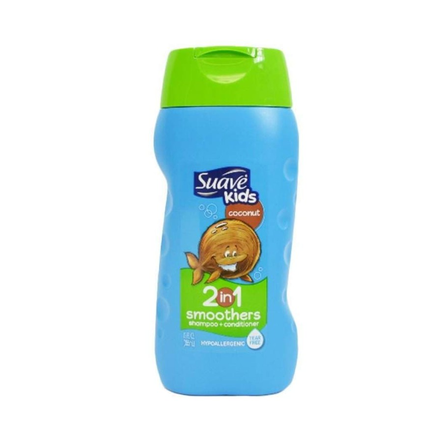 Suave Kids Coconut Smoothers 2-in-1 Shampoo+Conditioner (12oz/355ml)