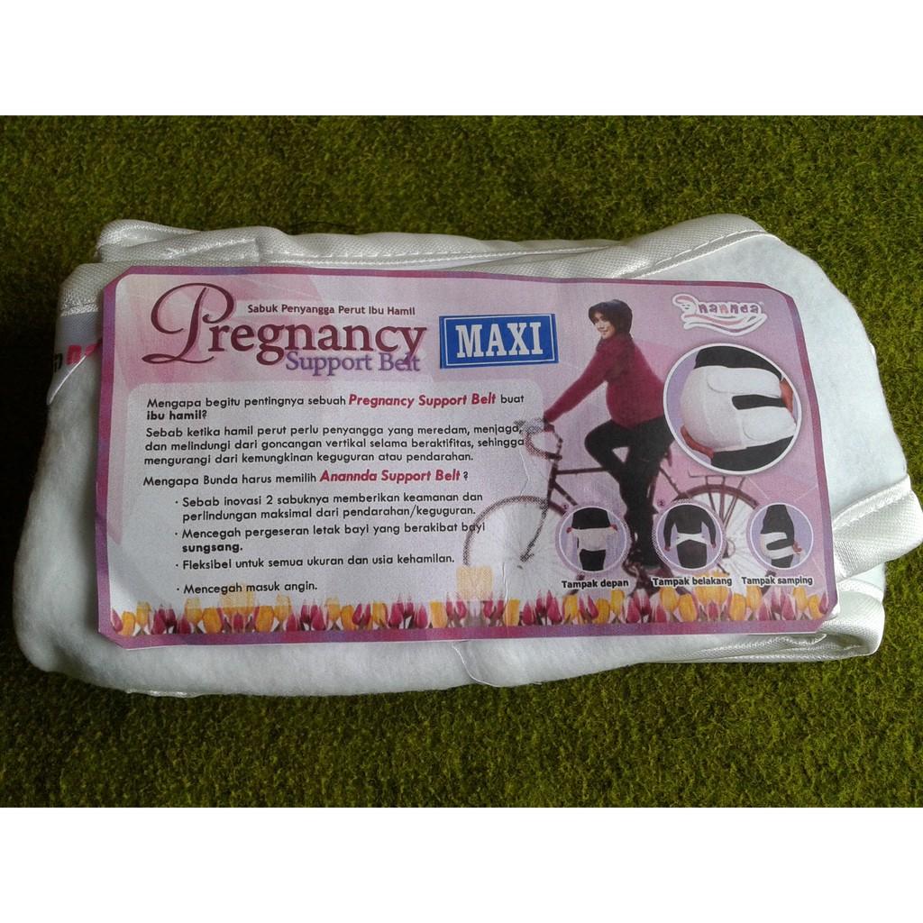 Ananda Pregnancy Support Belt Sabuk Penyangga Perut Saat Hamil Reguler Hijau Tosca Maxi Linkar Pinggang Max 160 Cm Shopee Indonesia