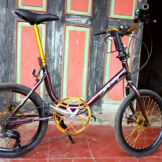 Sepeda Mini Track Sunflower Shopee Indonesia