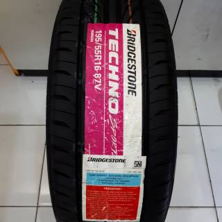 Ban Luar Bridgestone Techno Sport 195 55 R16 Shopee Indonesia
