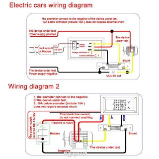 Ammeter Gauge Wiring Diagram from cf.shopee.co.id