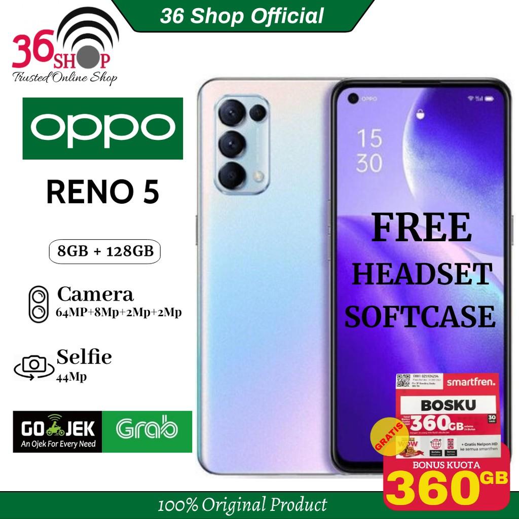Oppo Reno 5 8GB+128GB Garansi Resmi 1 Tahun-1