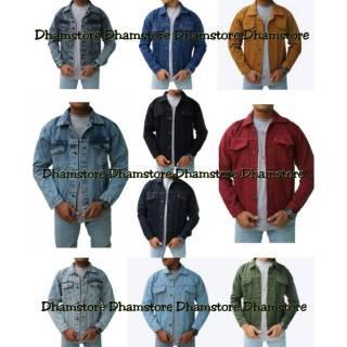 Promo Bayar di tempat COD Jaket jeans   jaket   jaket pria   jaket cowo    jeans denim 8ad93b38b5