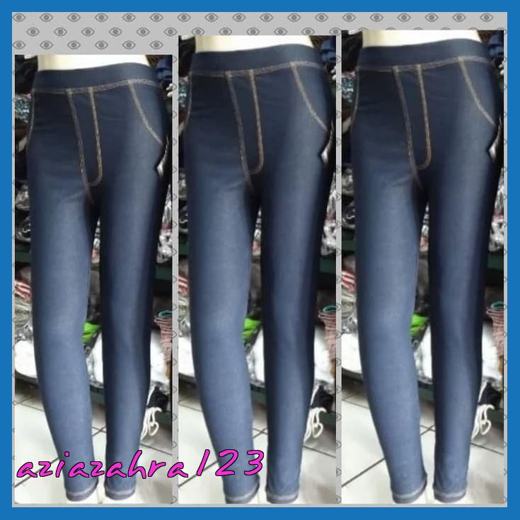 Diskon Celana Legging Levis Panjang Wanita Bahan Denim Adem Bagus Hitam Standar Shopee Indonesia