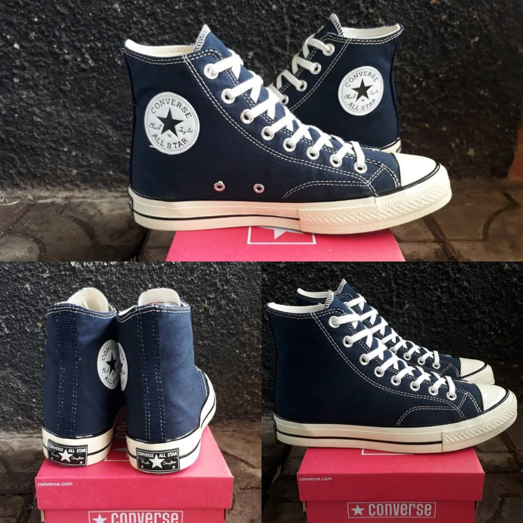 08c2e6593f98 SEPATU CONVERSE CDG PLAY HIGH BLACK WHITE PREMIUM