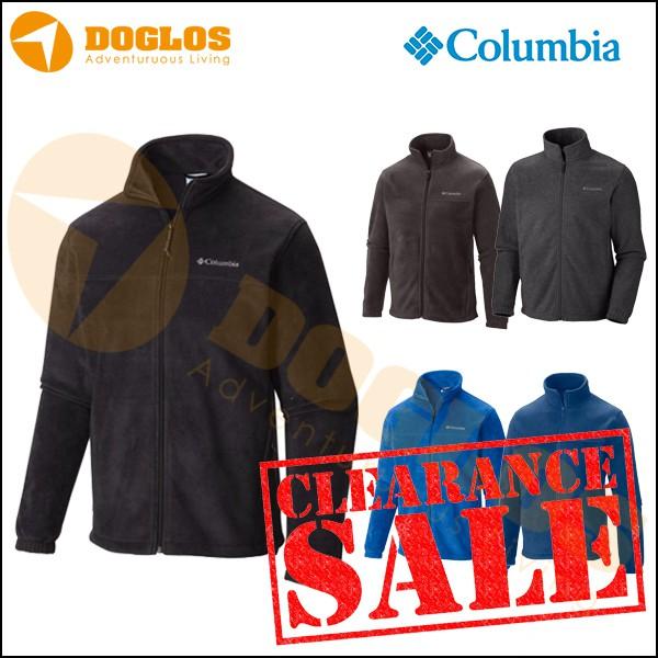 Columbia Mountain fleece jacket Original jaket gunung polar inner warm  58e972a656