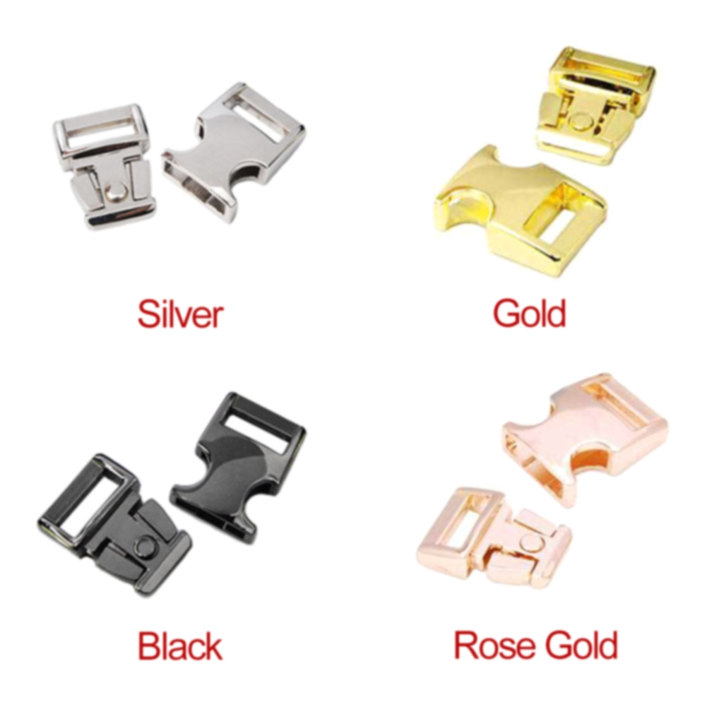 3PCS//Set Hardware Accessories Buckle Ribbon Handmade Metal For Backpack Luggage