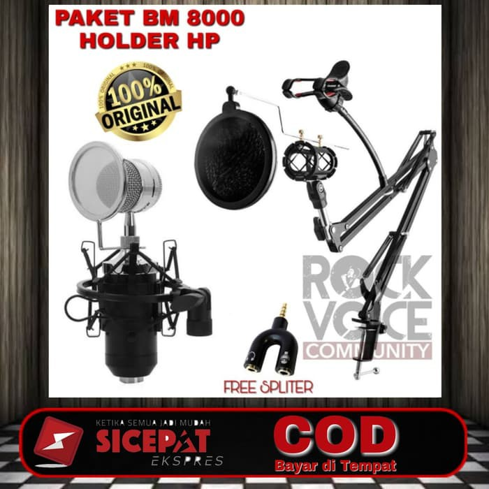 BS84 Paket bm 8000 full set