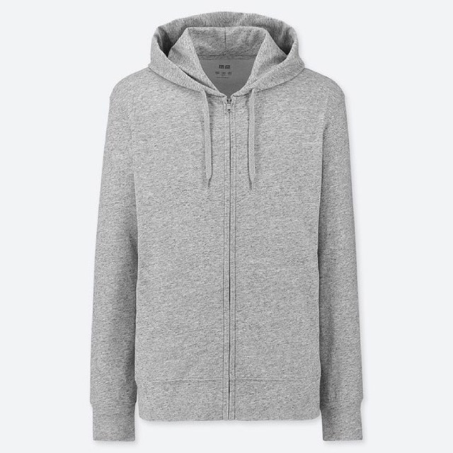 UNIQLO-AIRism JAKET UV CUT HOODIE RETSLETING | Shopee Indonesia