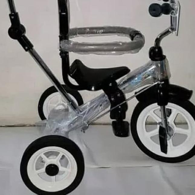 JualË Sepeda Roda Tiga Arava Pmb Black Aluminium Shopee Indonesia