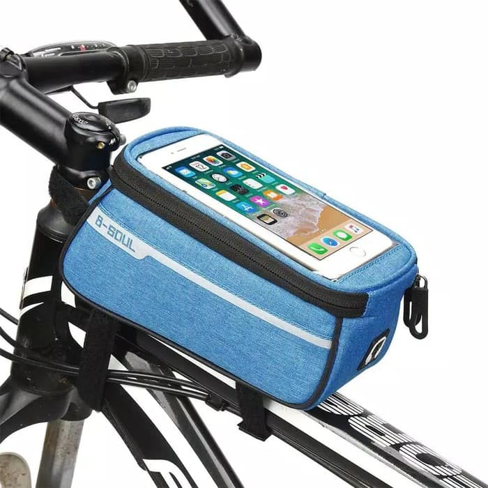 Holder Zipper Phone Pouch Handle Bar Case Cycling Bicycle Bag Waterproof Bike