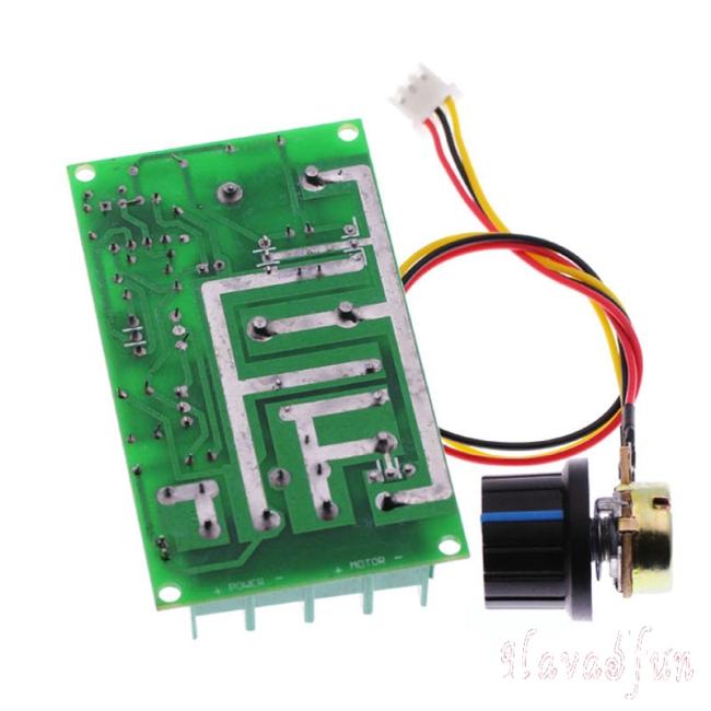 1*20A PWM DC Motor Speed Controller 12V 24V 36V 48V //w Potentiometer Knob Switch