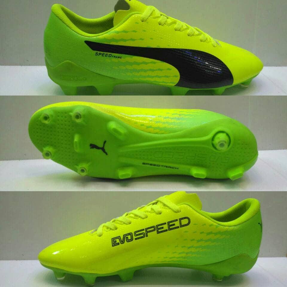 Sepatu Bola Puma Evospeed SL Ungu-Pink list Stabilo Grade Ori ... 390e87c41d