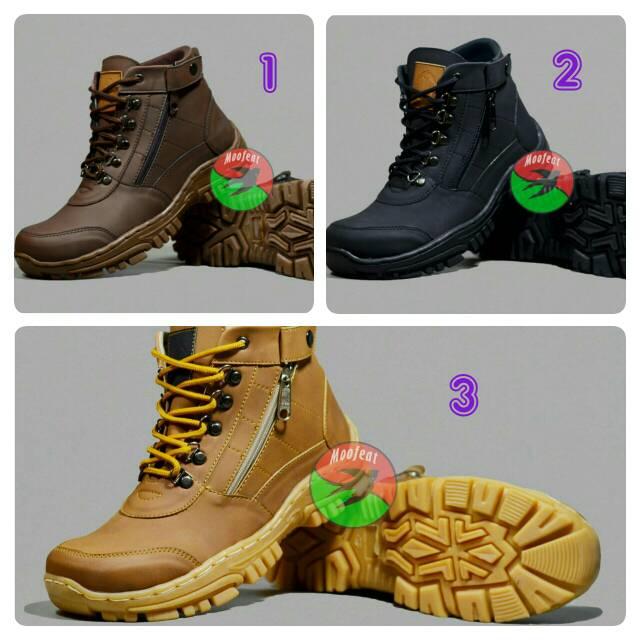 sepatu boots moofeat edward pria murah - sneakers - treking -hiking - adventure | Shopee