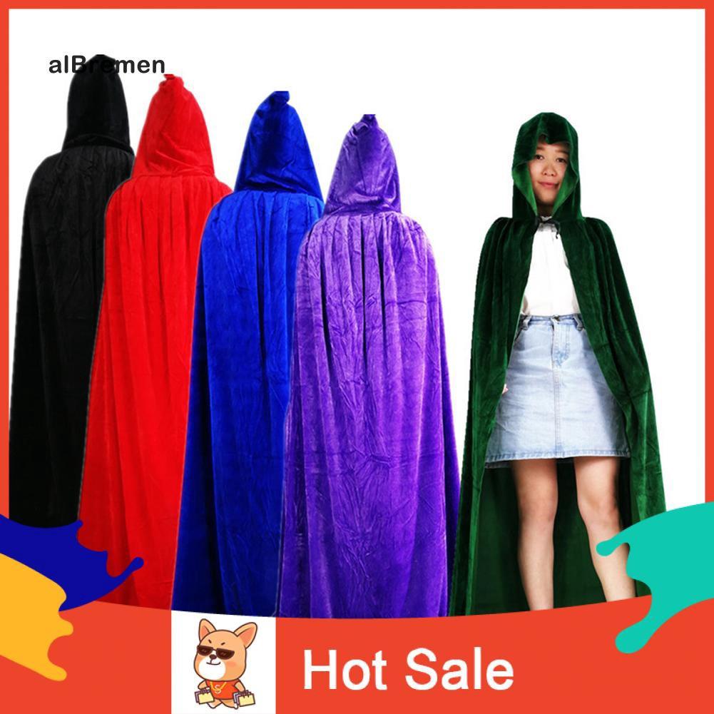 ✌ Jubah Hoodie Full Body Desain Penyihir untuk Kostum Halloween / Pesta
