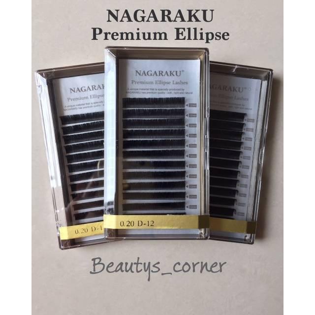 72c4628b45f NAGARAKU ELLIPSE EYELASH EXTENSION | Shopee Indonesia