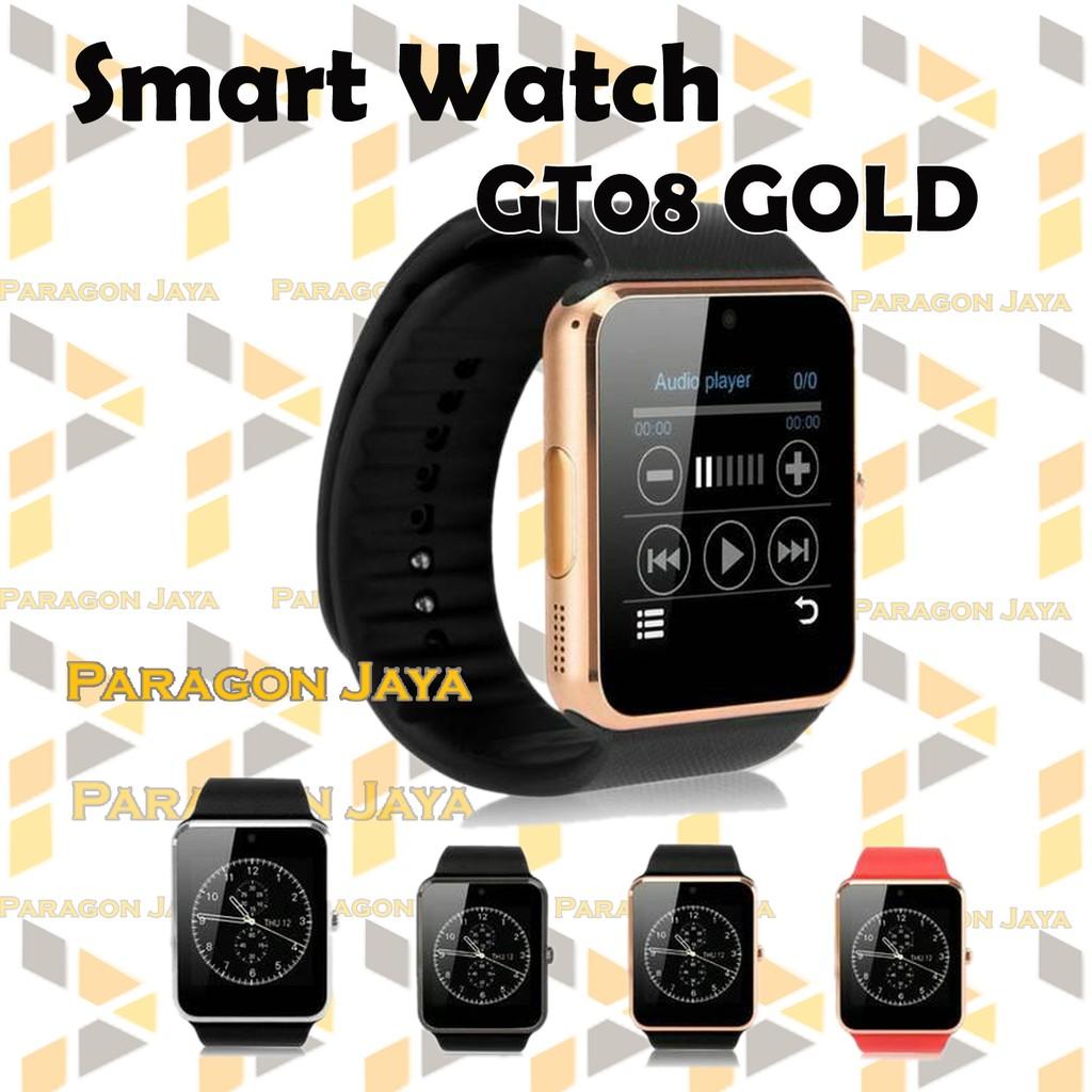 Diskon U10 Gt08 Smart Watch Apple Murah Termurah Shopee Onix A1 Smartwatch Full Black Indonesia