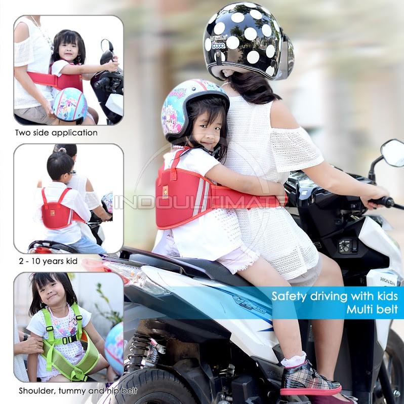 Sabuk Pengaman Serbaguna [bisa dipakai di motor atau di mobil] | Shopee Indonesia
