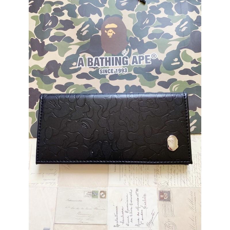 Dompet cowok Bape long wallet original manufacture