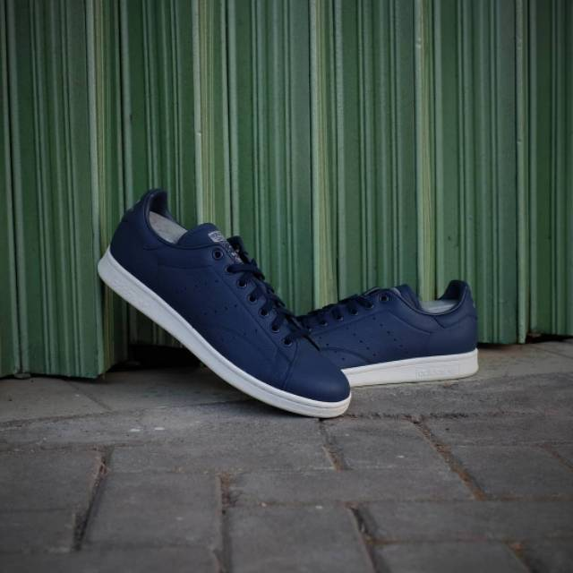 Perímetro marco Cintura  Adidas Stan Smith Midnight Navy | Shopee Indonesia