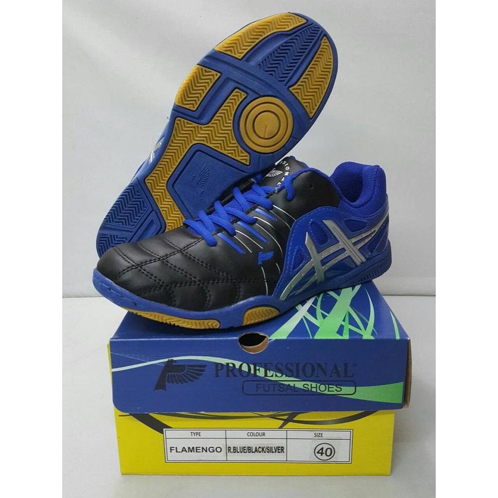 original professional ballistic md sepatu voli 40 r blue