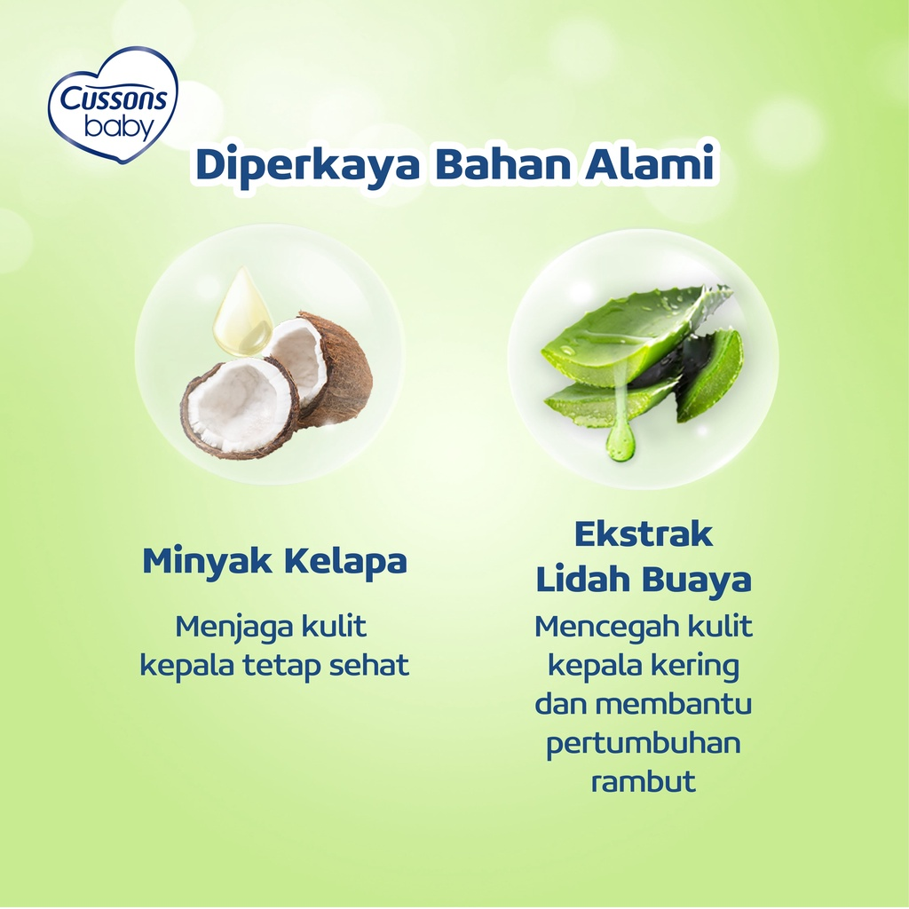 Cussons Baby Shampoo Coconut Oil & Aloe Vera 100ml-3