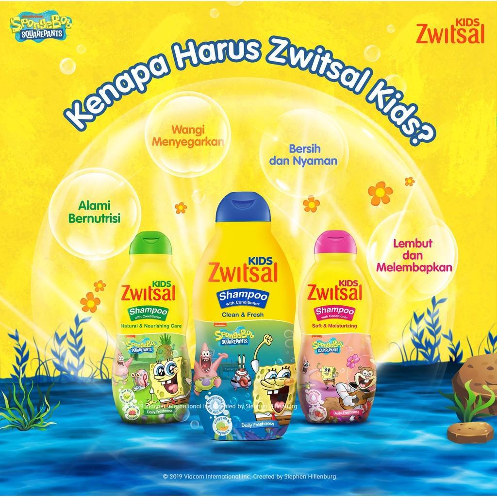 ZWITSAL KIDS SHAMPOO BLUE CLEAN & FRESH 180ml TWINPACK-2