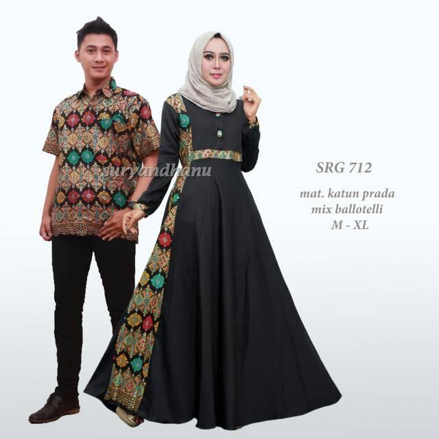 Couple Suami Istri Model Gamis Casandra Harga Murah Shopee Indonesia