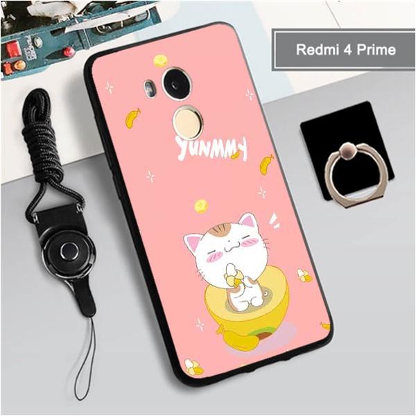 Soft Case Silica Gel Motif Kartun Hewan Lucu Imut Multi Warna Untuk Xiaomi Redmi 4 Prime Shopee Indonesia