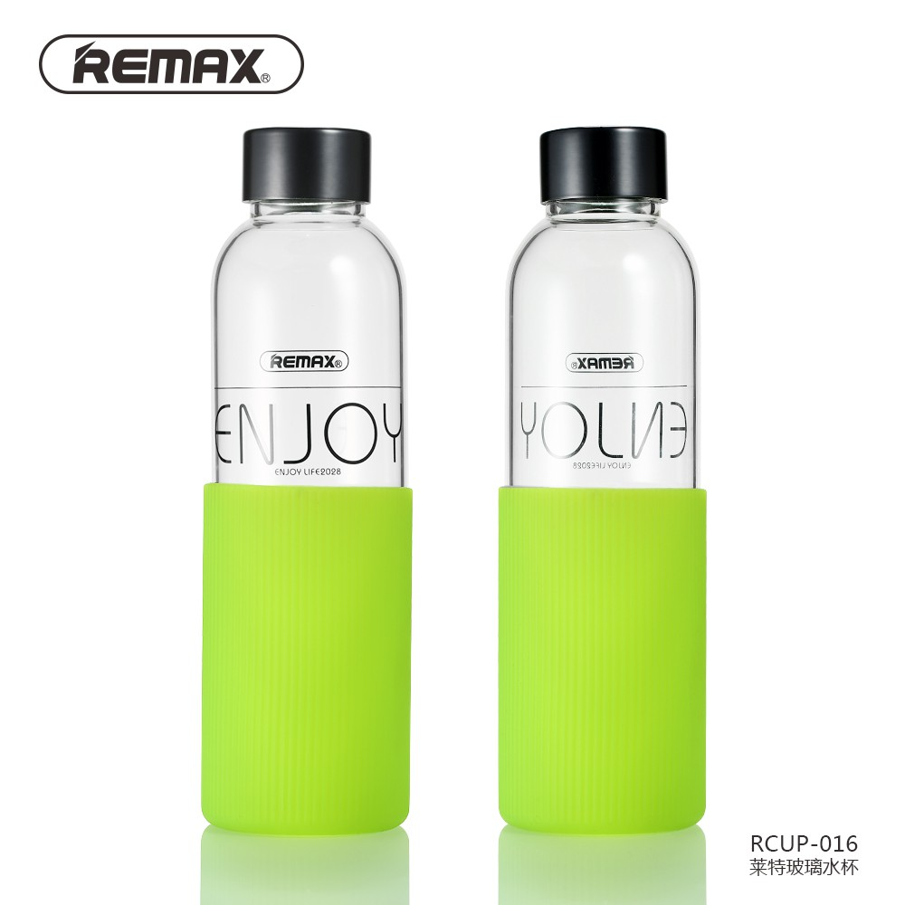 Remax A5 Letter Reusable Water Bottle 420ml Rcup N420 Botol Minum Memo Doff Soft Do Your Best Flat Right Cup Enjoy