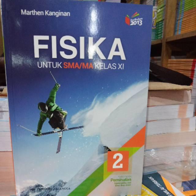 Buku Fisika 2 Sma Ma Kelas Xi Erlangga K13n Revisi Shopee Indonesia