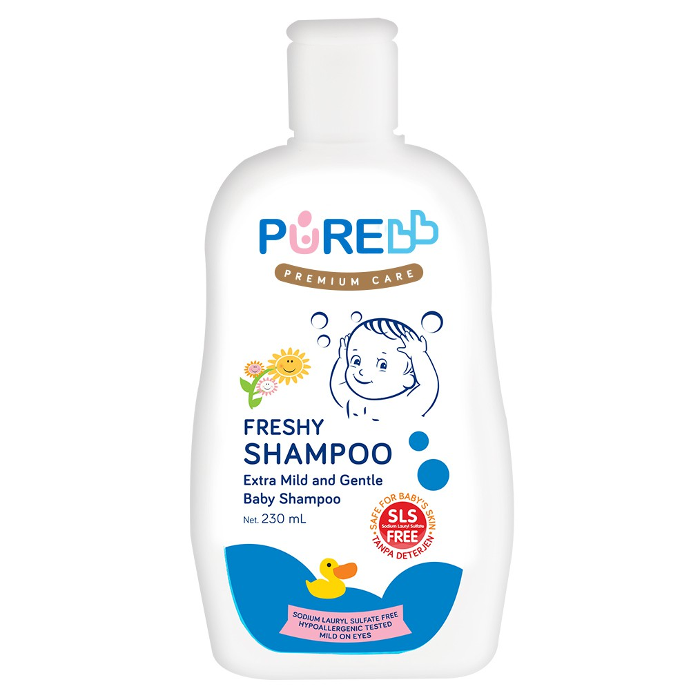 Pure bb Shampoo Freshy 230ml-1