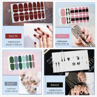 COD Stiker Kuku 3D Gaya Korea untuk Nail Art Sticker Stiker Nail sticker Fake nails Manikur thumbnail