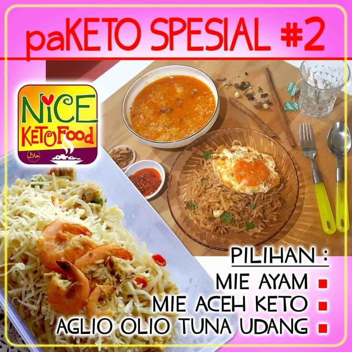 Terbaru Paketo Special 40 Makanan Diet Sehat Keto Kf
