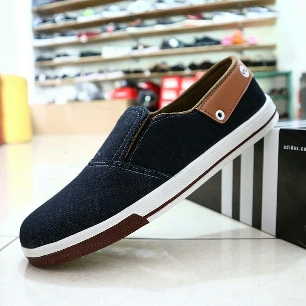 Sepatu Slip On Ardiles Sarbini Alban 100ori Shopee Indonesia Men Money Vesto Hitam 42