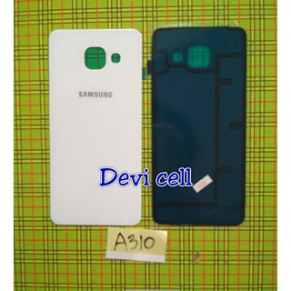 NEW BACK DOOR COVER CASING TUTUP BELAKANG SAMSUNG GALAXY A310 A3 2016 PUTIH ORDER NOW !!!   Shopee Indonesia