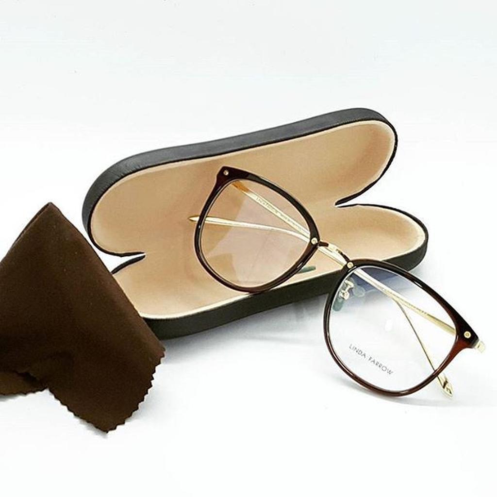 Kacamata Moscot Lemtosh Large Black Glossy Frame Bisa Minus Plus Kacamata  Baca Besar Lensa Clear  4fec3c1cbc