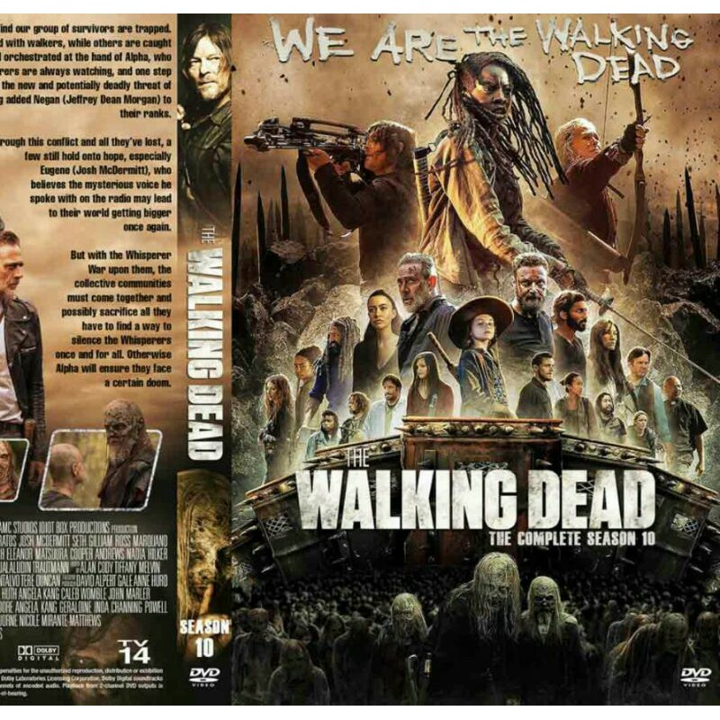"kaset dvd the walking dead season 10 ""2020"" 5disc end eps 1-22 | Shopee Indonesia"