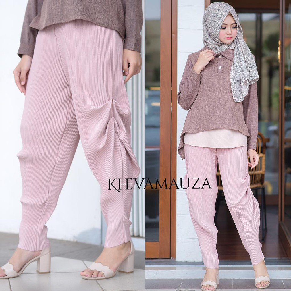 Letty Tail Kullote Pants By Mybamus Official For Flashsale Shopee Kalonny Denim Navy M13994 R42s2 Indonesia