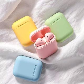 Macaroon Airpods Headset Bluetooth Bisa Android Iphone Windows Ready Stock Jakarta Shopee Indonesia