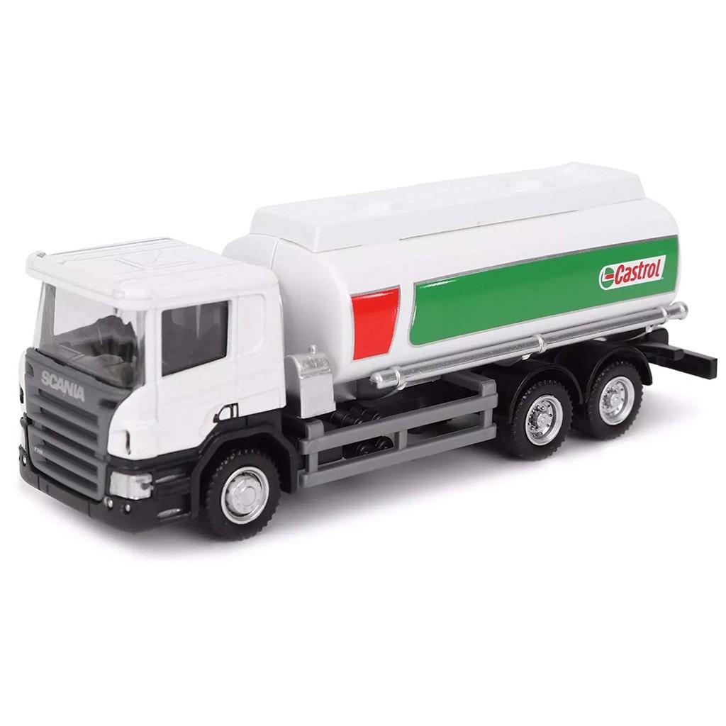 Rmz City Scania P Series Castrol Tanker Truck Miniatur Truk Truck Tangki Minyak