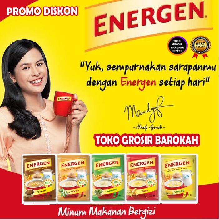 Energen Isi 5 Minuman Bergizi Minuman Enak Minuman Sehat Minuman Murah Minuman Mengeyangkan Segar Shopee Indonesia